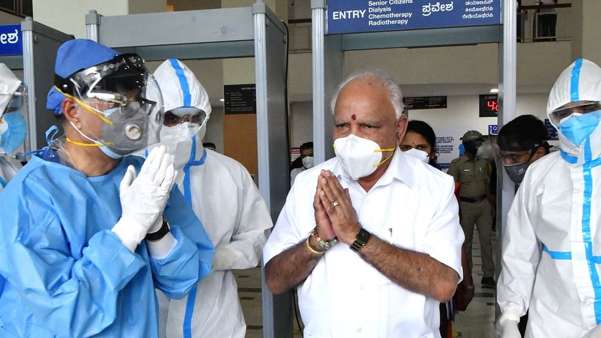 Yediyurappa to self-quarantine after discharge from hospital