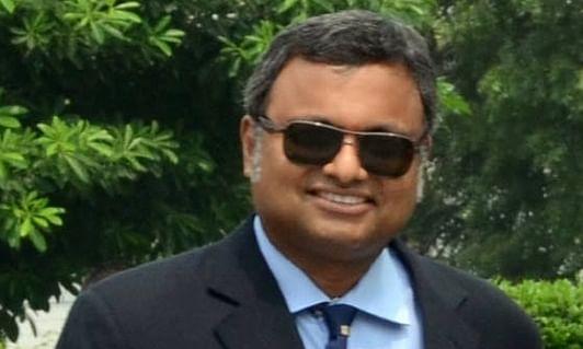 Karti Chidambaram tests positive for COVID, in home quarantine