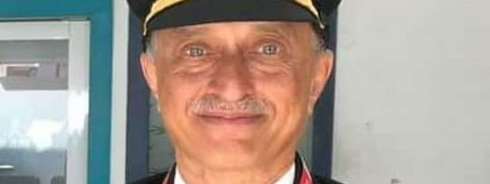 D V Sathe, the pilot of the Air India Express aircraft that met with an accident at Kozhikode airport in Kerala, on August 7, 2020