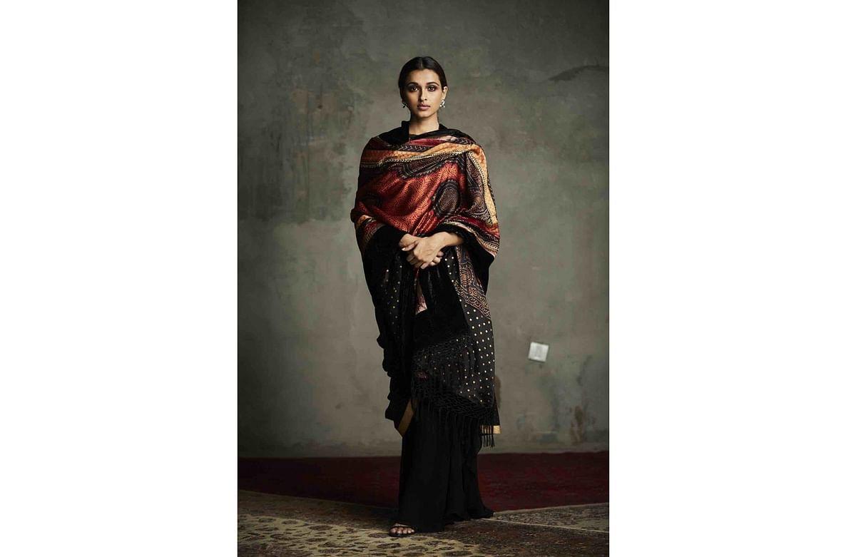 A Bandhani creation by designer Ritu Kumar.