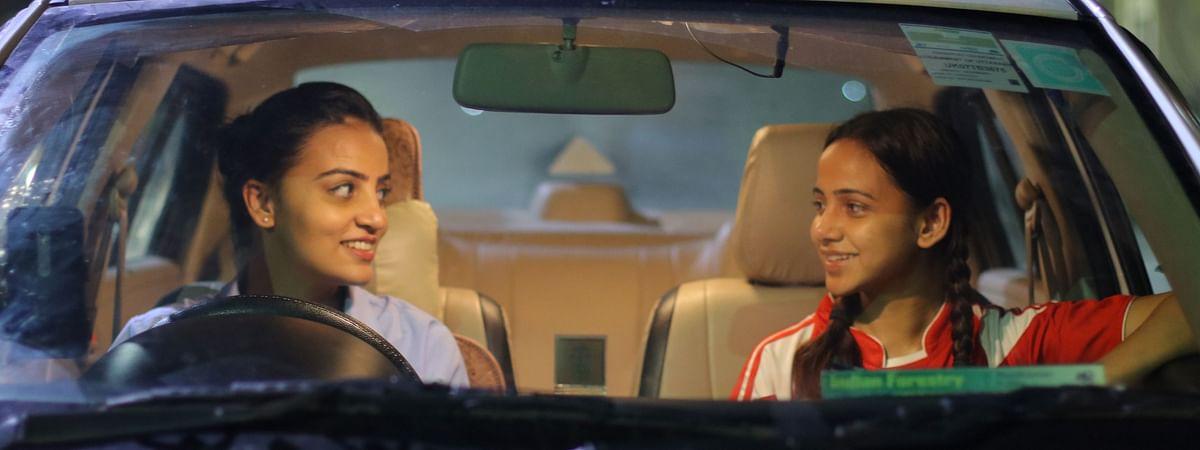 Sakshi Hasija and Anupama Sunehria, in a still from the music video 'Raat Ke Musaafir'.