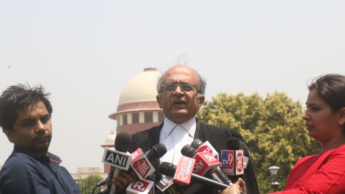 SC holds Prashant Bhushan guilty of contempt