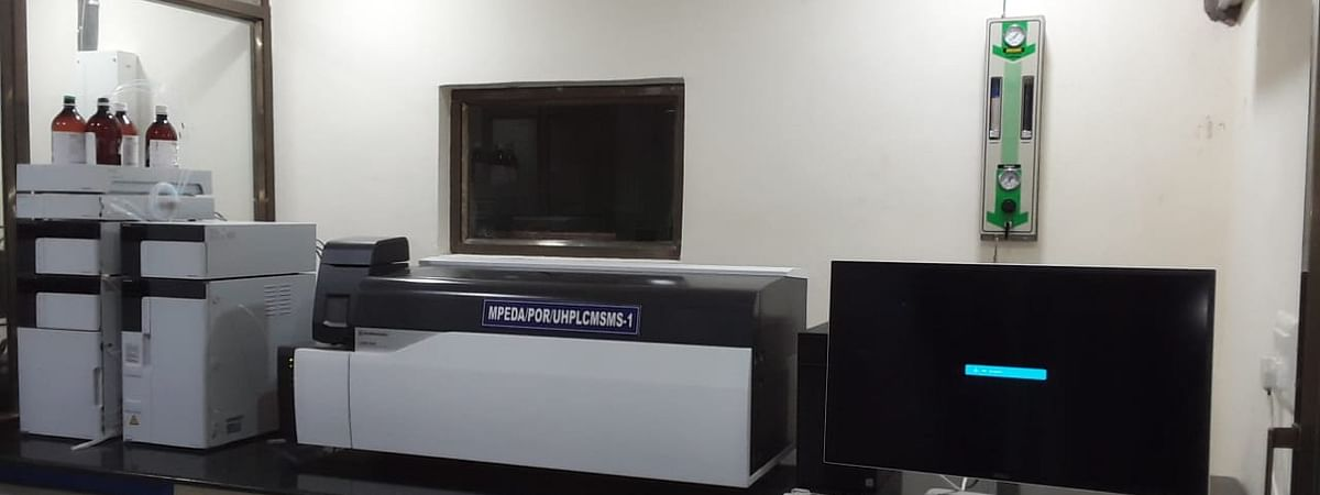 MPEDA's Quality Control Lab in Porbandar, Gujarat