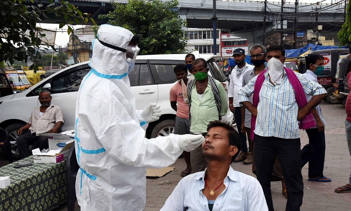 India reports 871 more COVID deaths, 53,601 new cases of infection