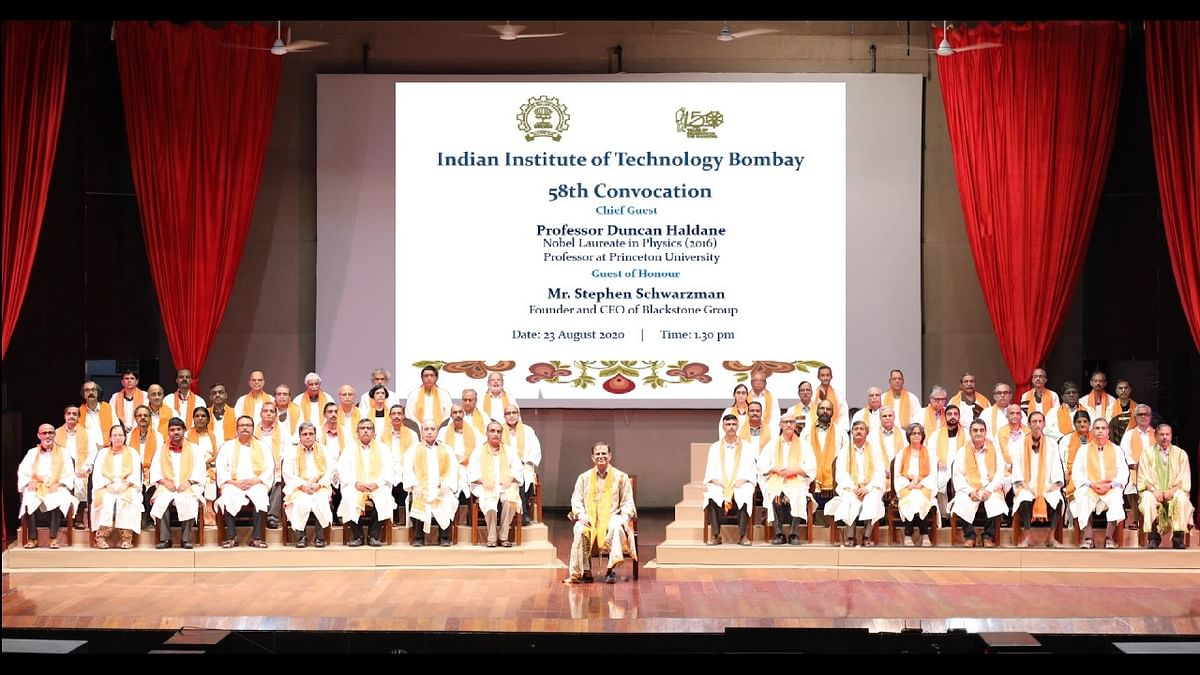 India poised to be great innovation hub, says Schwarzman at IIT Bombay convocation