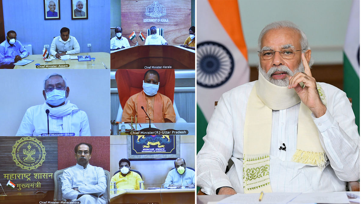 Modi holds meeting with CMs of six states to review flood situation