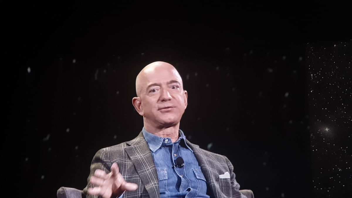 Jeff Bezos becomes first person to be worth over $200 billion