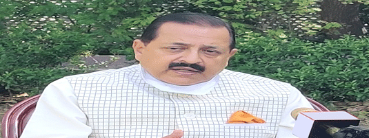 Jitendra Singh, Minister of State in the  Prime Minister's Office