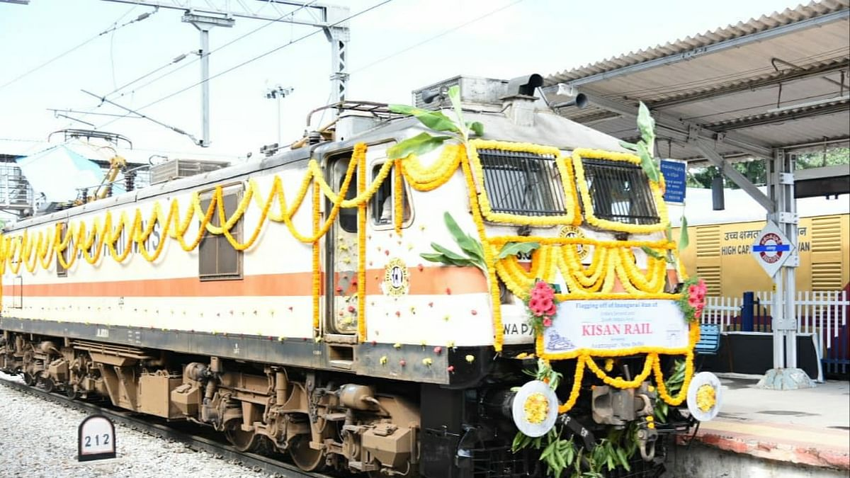 Delhi set to receive the first Kisan Rail from South India