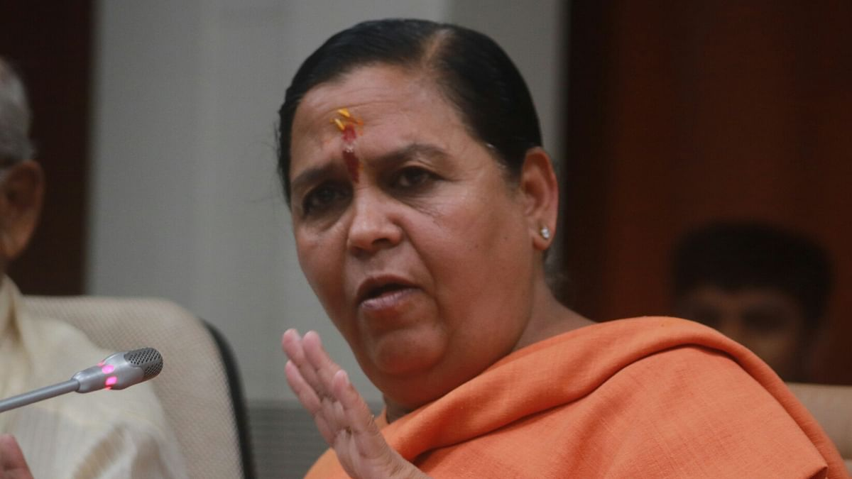 Uma Bharti tests positive for COVID-19