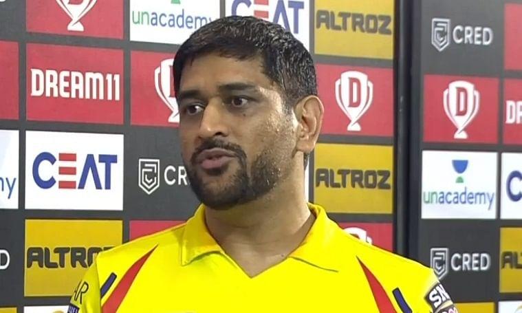 Chennai Super Kings skipper Mahendra Singh Dhoni