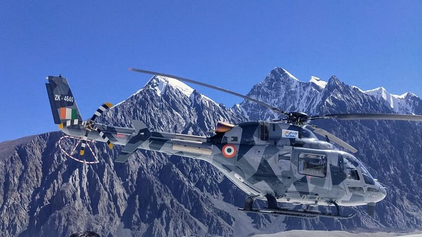 HAL's indigenous light utility helicopter completes hot and high altitude trials in Himalayas