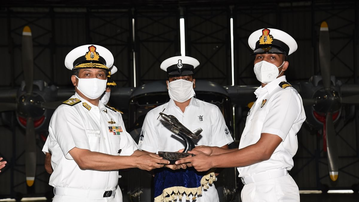 Women officers selected to join as airborne tacticians in Helicopter Stream of Indian Navy