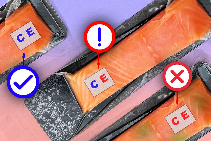 The researchers attached the sensor to a fillet of raw fish that they had injected with a solution contaminated with E. coli. After less than a day, they found that the part of the sensor that was printed with bacteria-sensing bioink turned from blue to red — a clear sign that the fish was contaminated. After a few more hours, the pH-sensitive bioink also changed color, signaling that the fish had also spoiled.