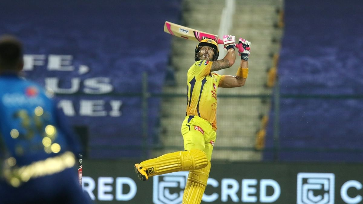 Rayudu, du Plessis 50s give CSK winning start in IPL
