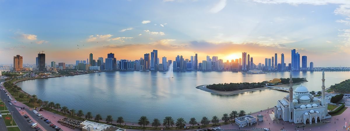 A view of Sharjah