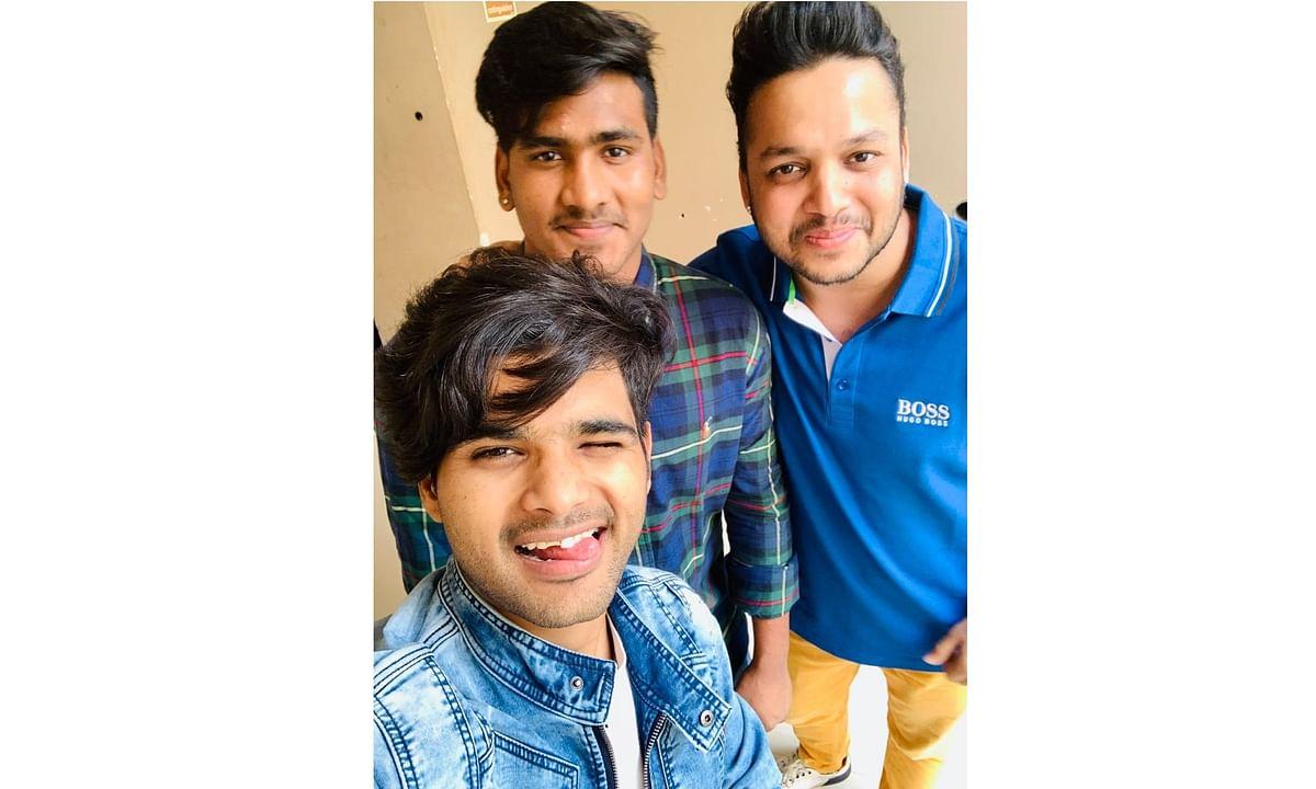 Indian Idol winners Salman Ali (front) and Sunny Hindustani.
