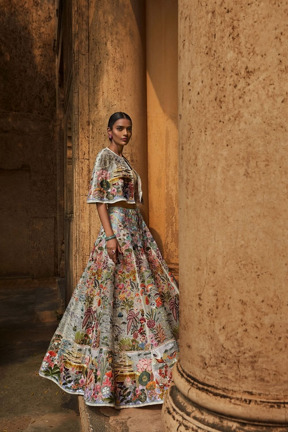 Rahul Mishra's Opulence with Responsibility.