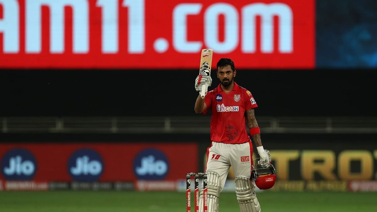 Rahul's unbeaten 132 helps KXIP score mammoth 206/3 against RCB