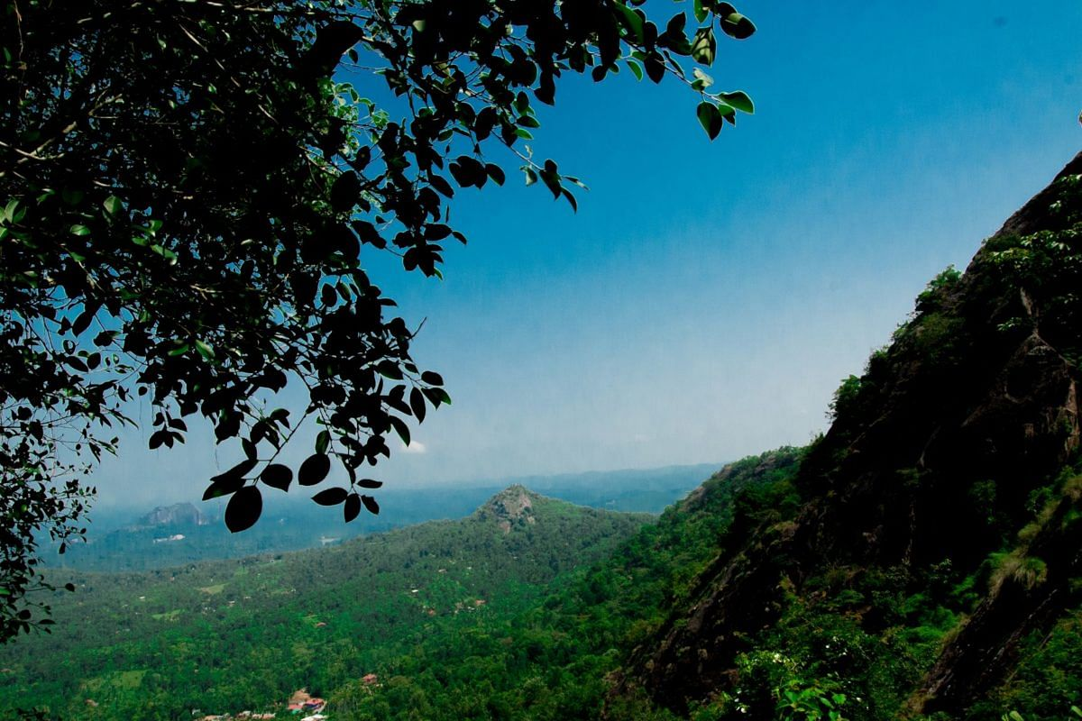 The Ambukuthi-Edakkal hill ranges which forms part of Western Ghats.
