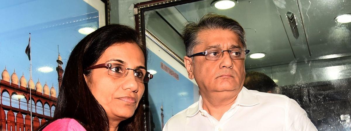 Former ICICI Bank CEO Chanda Kochhar and her husband Deepak Kochhar