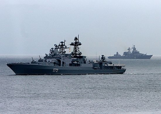 11th 'Indra Navy', India-Russia maritime exercise begins in the Bay of Bengal