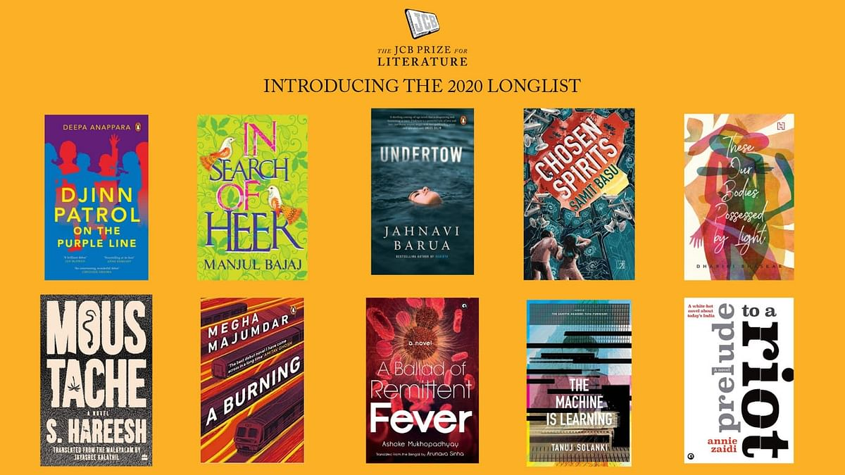Six women among 10 authors in Rs 25 lakh JCB Literature Prize longlist