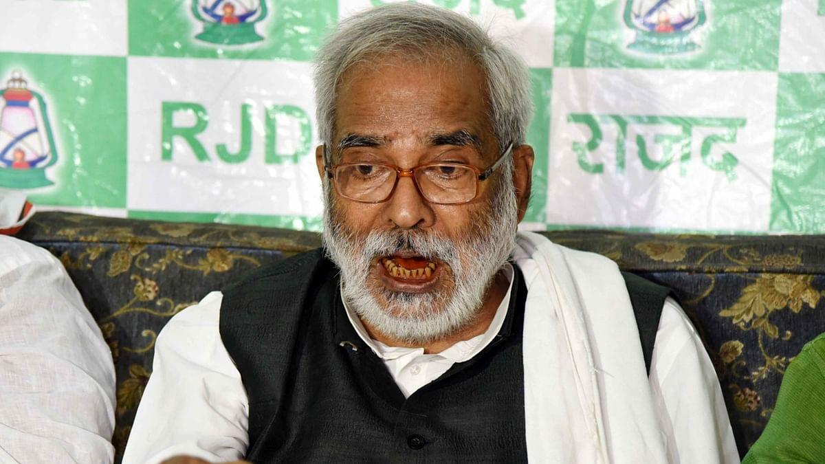 Raghuvansh Prasad Singh quits RJD ahead of Bihar Assembly elections