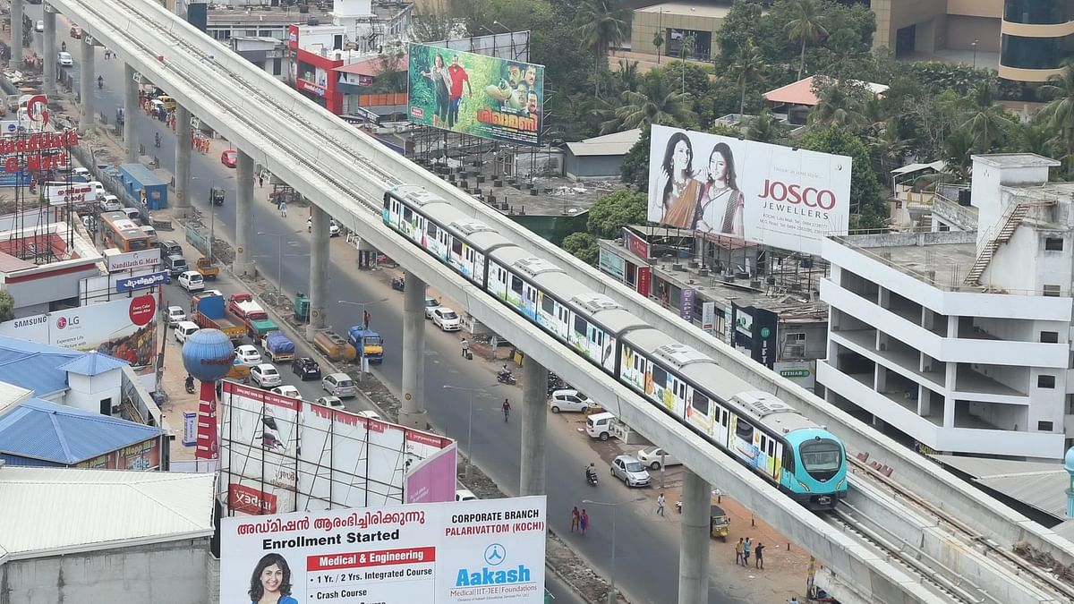 Centre permits Kochi Metro Rail to use drones for IURWTS project