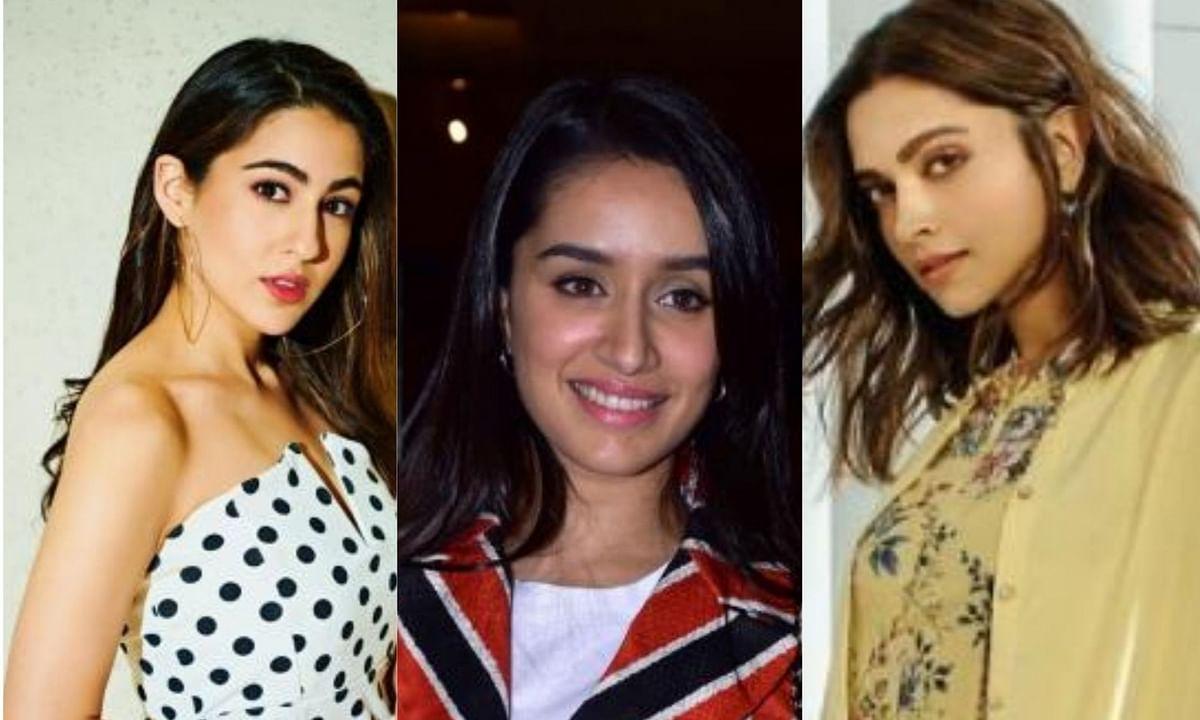 Sara Ali Khan, Shraddha Kapoor and Deepika Padukone