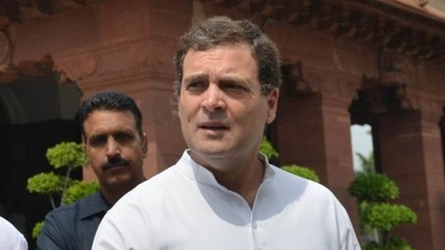 Citing waste of time, Rahul walks out of parliamentary panel meet on defence