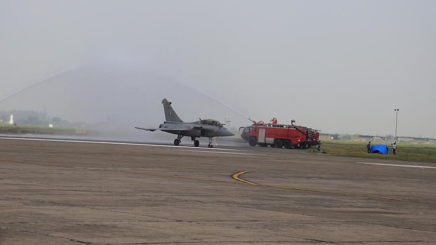 Rafale fighter jets formally inducted into IAF