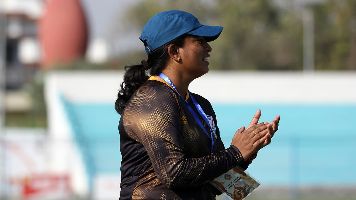 Indian women's football journey has just started: Coach Maymol Rocky