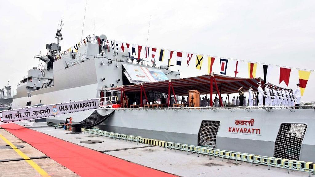 Army Chief Gen MM Naravane commissions INS Kavaratti