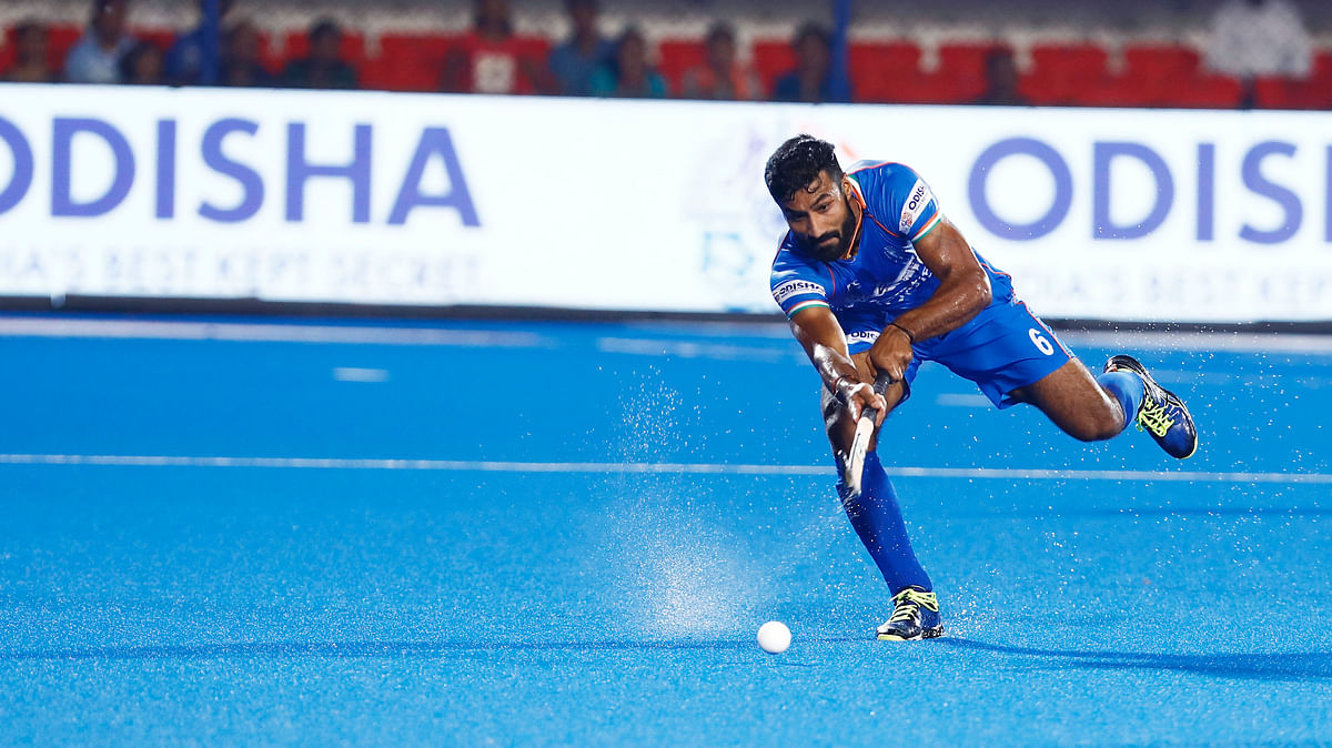 Efforts on to return to top fitness level: Defender Surender Kumar