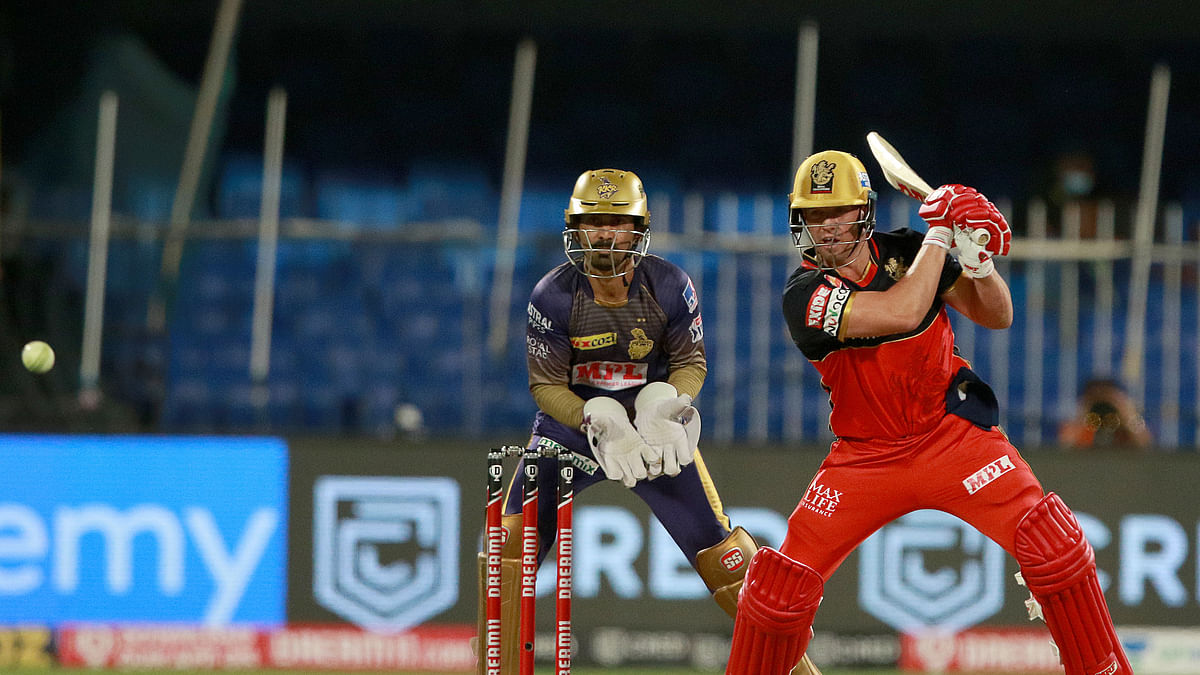 de Villiers powers RCB to 194/2 against KKR