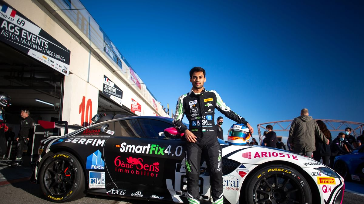 Motorsport: Akhil Rabindra notches top-ten finish in race-1 at circuit  Paul Ricard