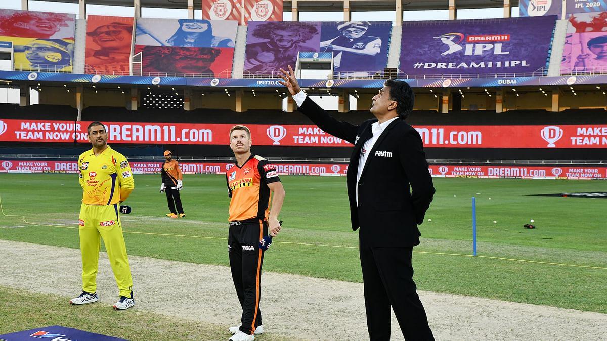 CSK win toss, choose to bat first against SRH