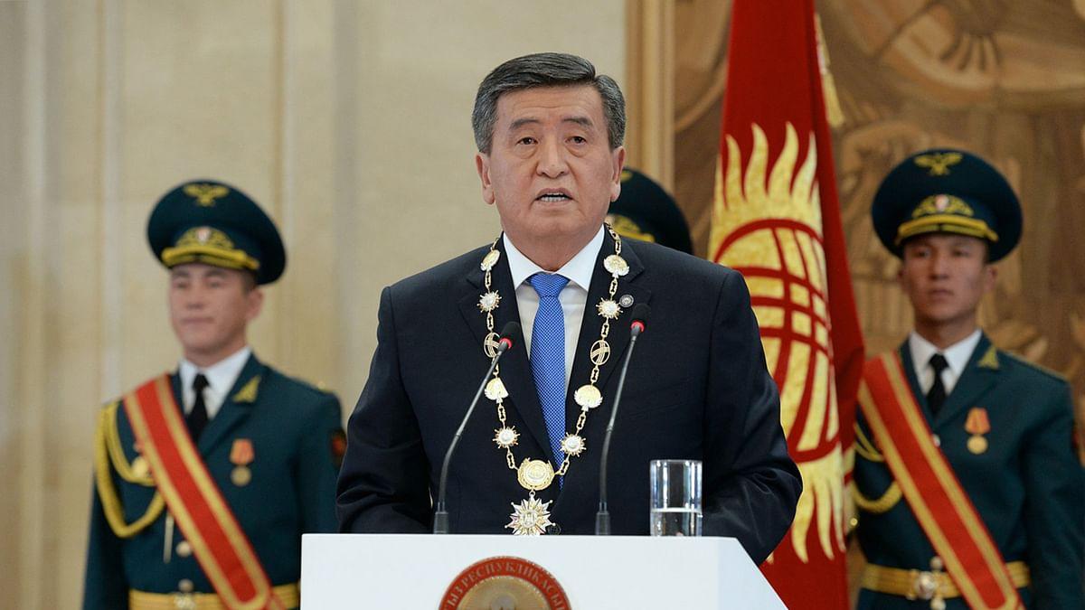Kyrghyz President Sooronbai Jeenbekov  resigns following weeks of unrest