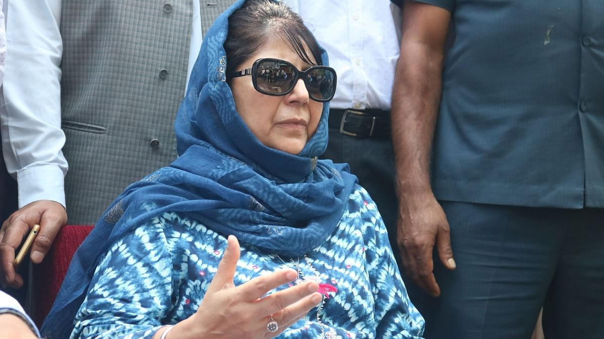 Mehbooba Mufti released from detention after over a year