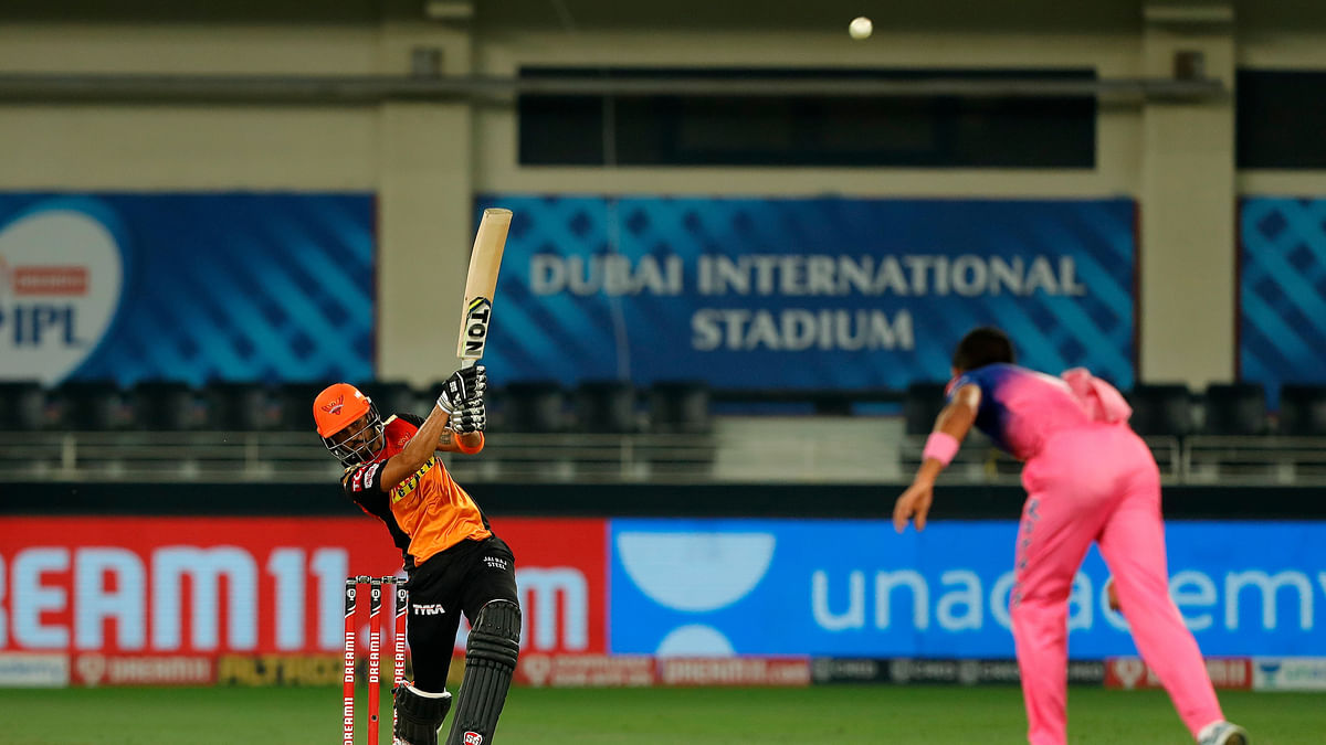 Pandey, Shankar lead SRH to 8-wkt win over RR