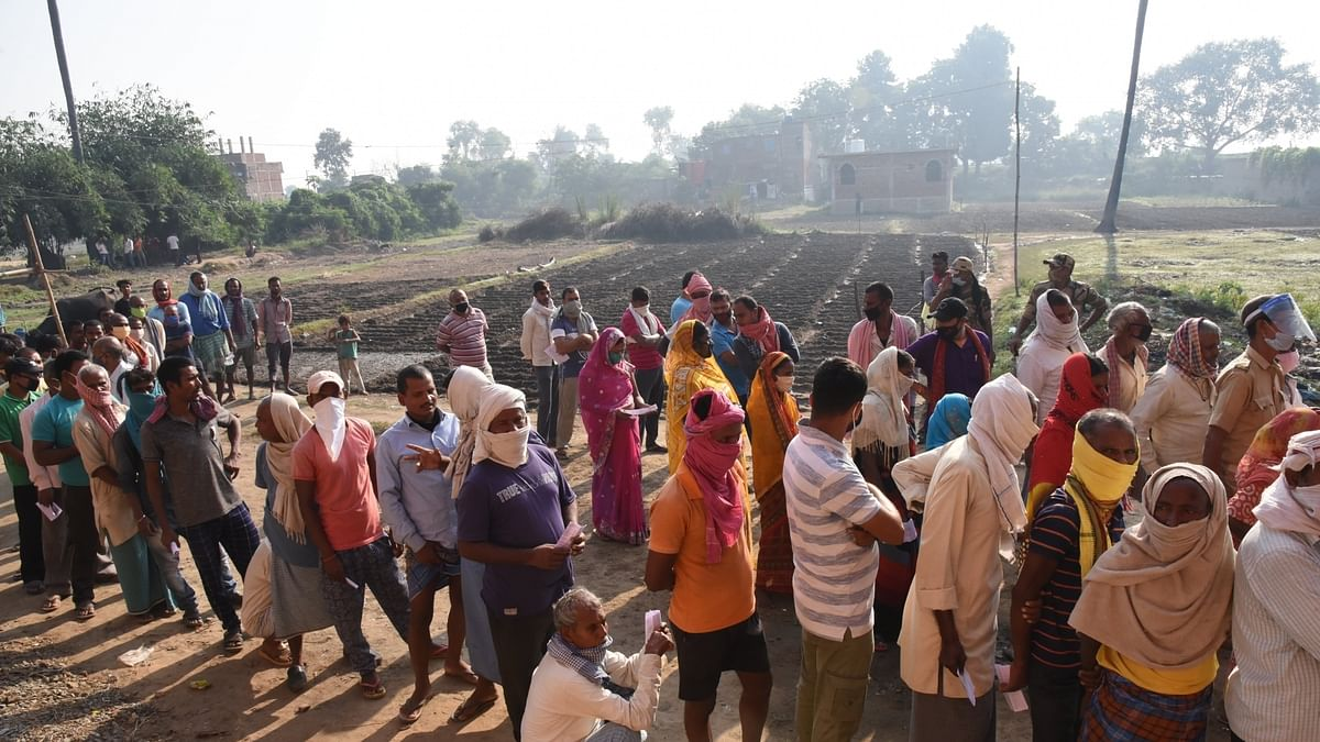53.54% vote in peaceful first phase of polling in Bihar