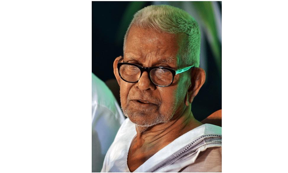 Three weeks after receiving Jnanpith, Malayalam poet Akkitham passes away