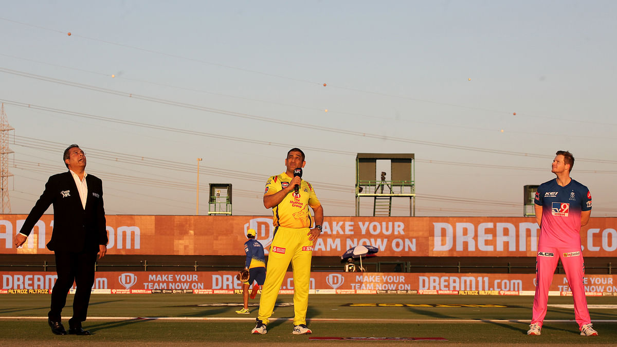CSK win toss, elect to bat first against RR