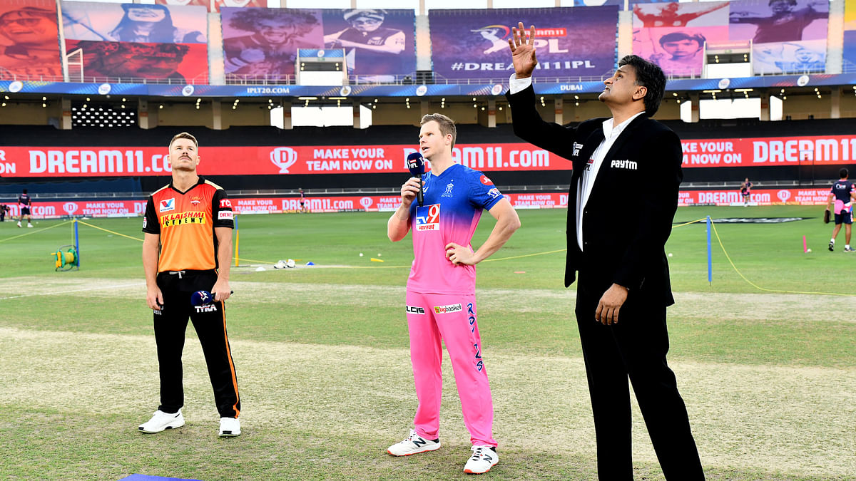 SRH win toss, choose to field first against RR