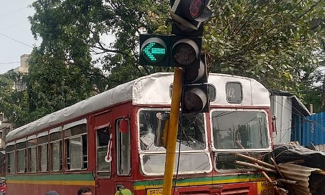 Mumbai BEST driver suffers heart attack at wheels, no casualties