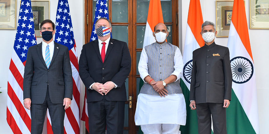 India, US hold their Third 2+2 Ministerial Dialogue