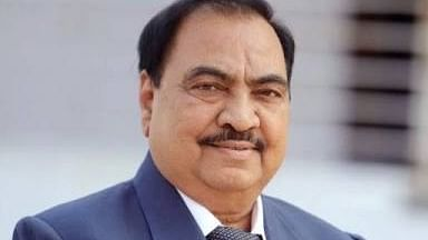 Big jolt to Maharashtra BJP: Senior  leader Eknath Khadse quits to join NCP