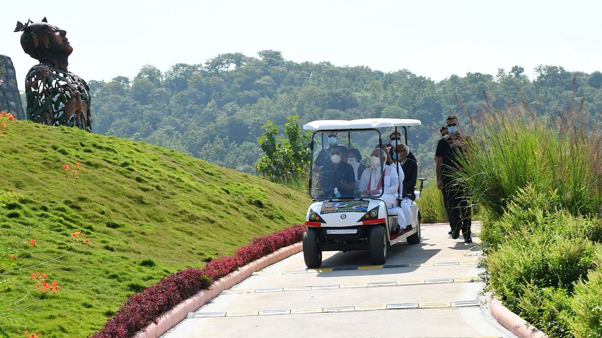 Modi inaugurates Zoological Park, launches slew of projects at Kevadia in Gujarat