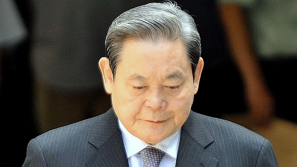 Samsung chief Lee Kun-hee, who made S Korea a tech powerhouse, passes away